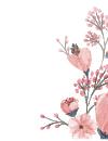 طرح گل های بهاری 1