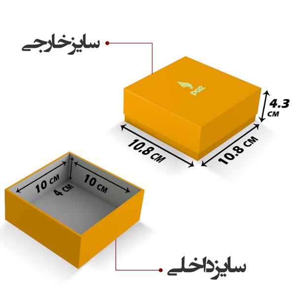 جعبه کادو مربعی