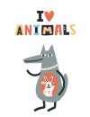 طرح دوستدار حیوانات
