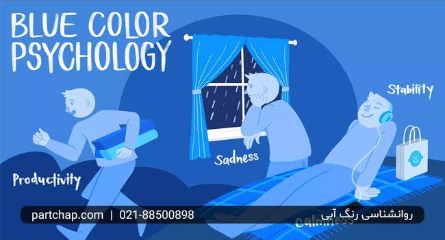 روانشناسی رنگ آبی